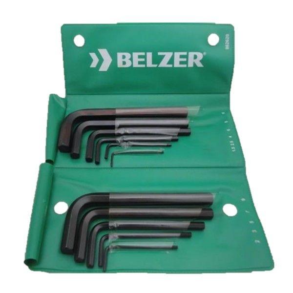 Jogo de Chave Allen de 1,5 a 10 mm com 11 Peças Belzer 220404BR