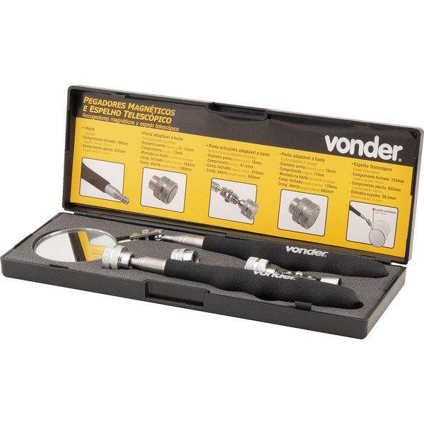 Jogo Pegador Magnético com 5 peças Vonder 3599000005