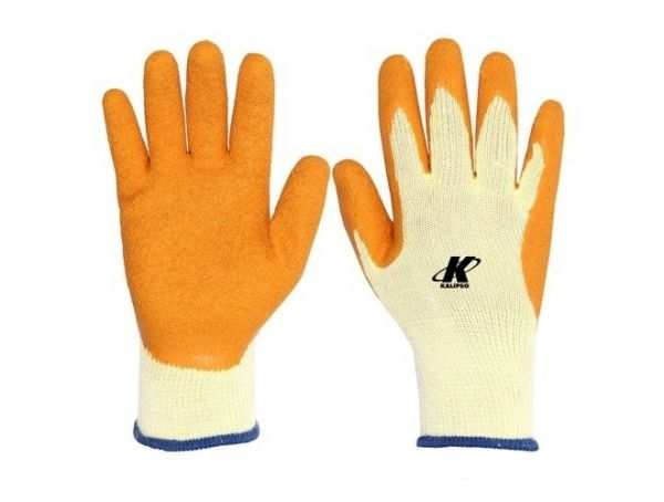Luva Seg Tricotada Orangeflex G Kalipso
