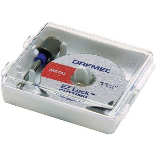 Kit 5 Discos + 1 Mandril- Dremel 2615e406ad