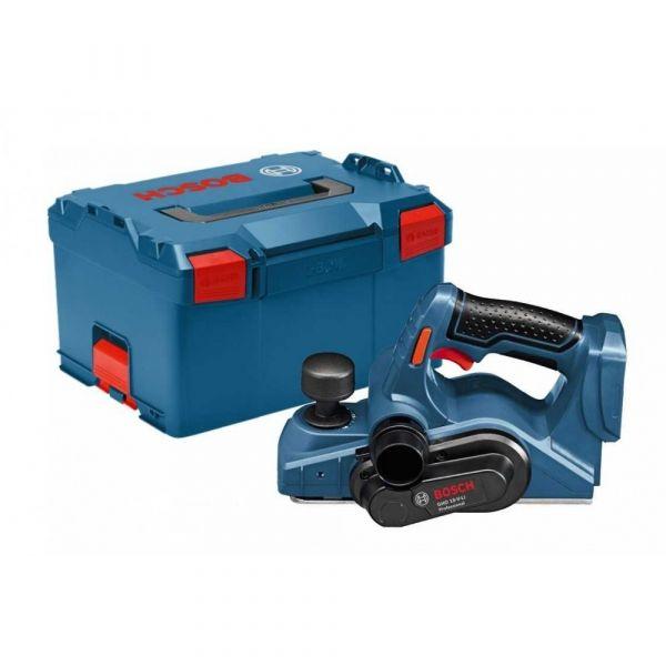 Plaina Bosch a Bateria GHO 18V-LI, 18V, sem Bateria e sem Carregador, em Maleta plástica