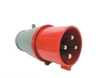 Plugue Vermelho 3P+T 380v 32A Soprano