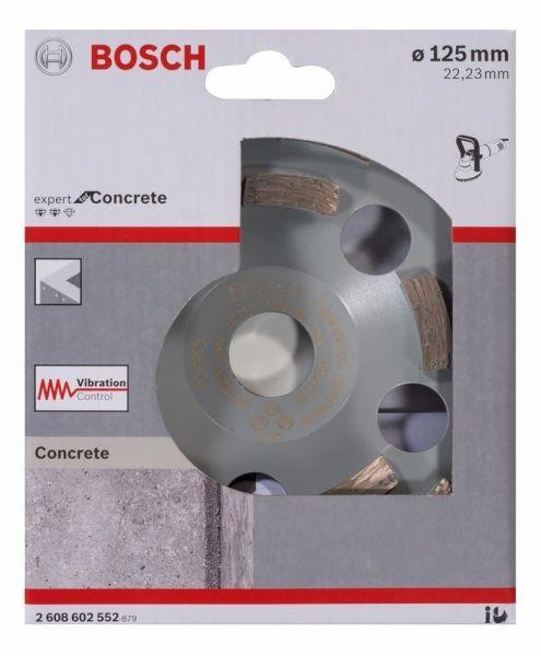 Prato Diamantado p/concreto 125mm- Bosch 2608602552