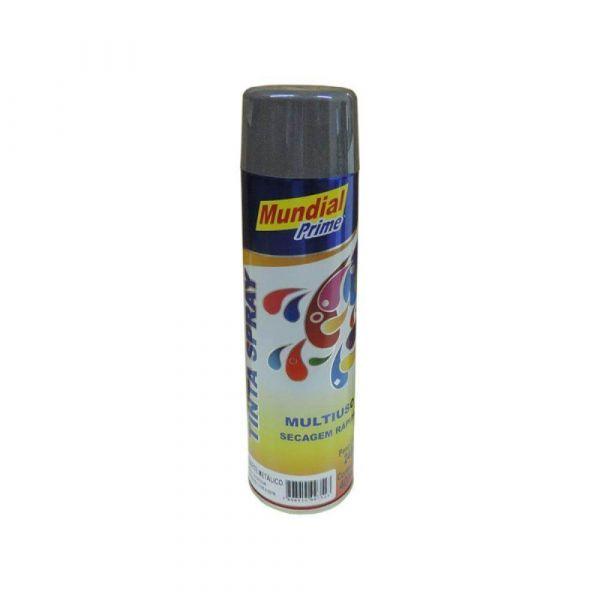 Tinta Spray Grafite Metalico 400ml Mundial Prime