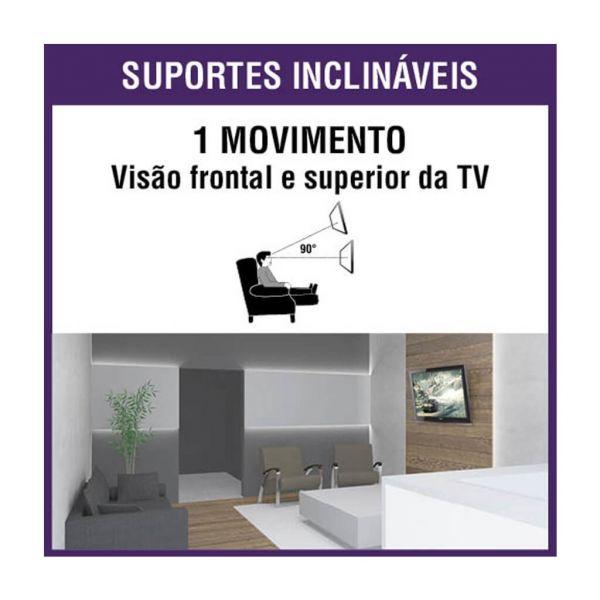 Suporte Universal Inclinável para TV 10