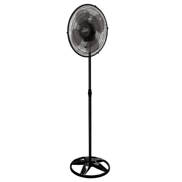 Ventilador Premium Oscilante Coluna Preto 50 cm Venti-Delta